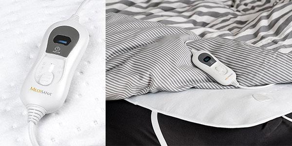 Calienta camas eléctrico Medisana HU665 de color blanco al mejor precio