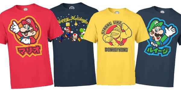camisetas Nintendo con descuento en Zavvi