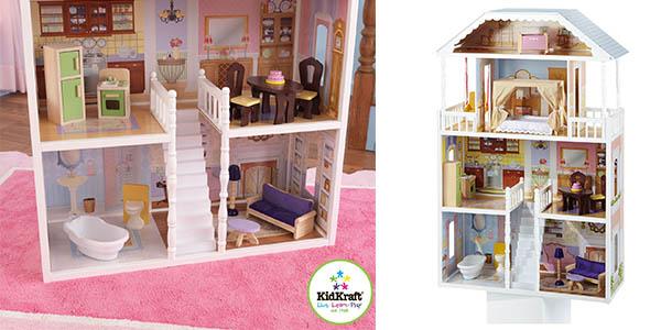 casa de muñecas KidKraft Savannah oferta