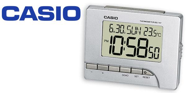 Casio Wake Uo Timer DQ-747-8EF reloj despertador digital LED barato