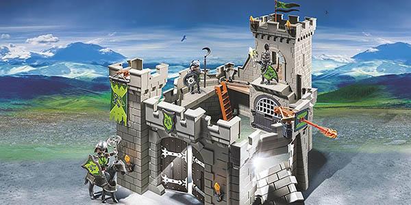 castillo Caballeros Playmobil a partir de 4 años entretenido y potenciar imaginación