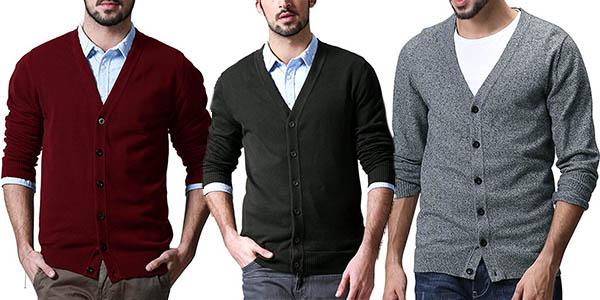 chaqueta de punto de diseño casual para hombre Match Match oferta