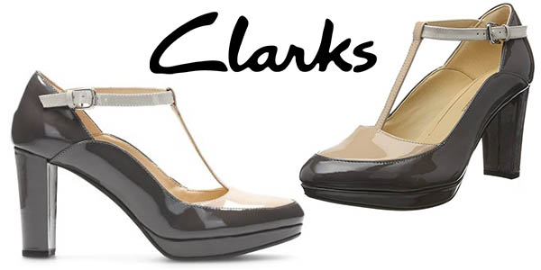 Clarks Kendra Daisy Zapatos de tacón elegantes para mujer