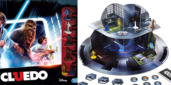 Cluedo Star Wars B7688105 de Hasbro rebajado