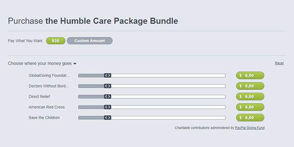 Comprar Humble Care Package Bundle