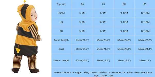 Conjunto de pijama de 2 piezas para bebé (pelele largo y chaleco con gorro) barato en Amazon