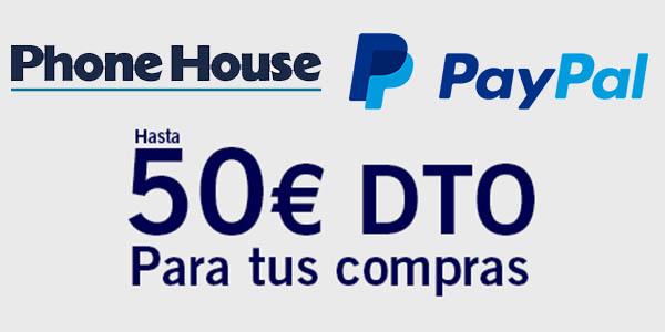 Hasta 50€ de descuento en ThePhoneHouse pagando con PayPal