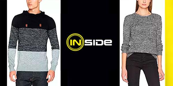 Descuentos en ropa para hombre y mujer de la marca Inside en Amazon