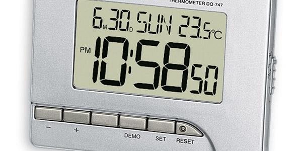 despertador digital LED pequeño Casio Wake Up oferta