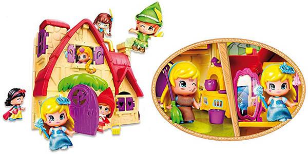 divertida casa de los cuentos de Pinypon con personajes clásicos chollo