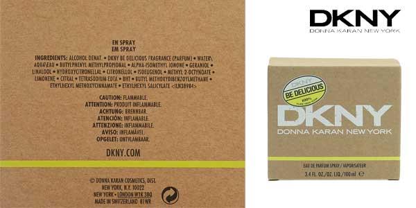 Eau de parfumm Donna Karan DKNY Be Delicious para mujer chollazo en Amazon