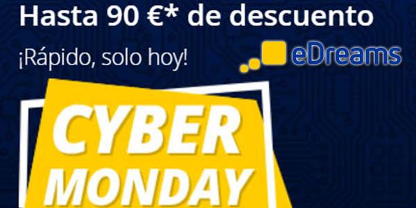 eDreams Cyber Monday 2019