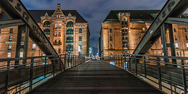escapada de fin de semana Hamburgo barata