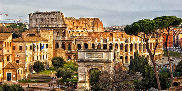 escapada a Roma en noviembre 2017