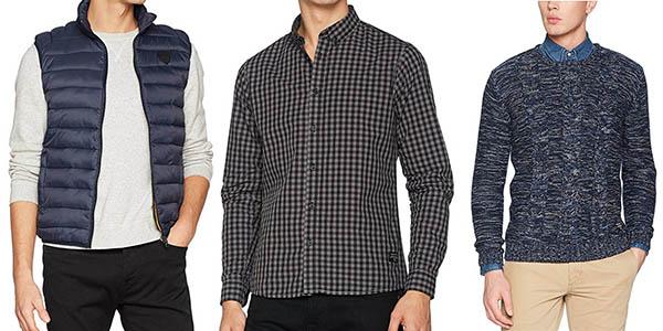 grandes descuentos en ropa para hombre de la marca !Solid de diseño casual