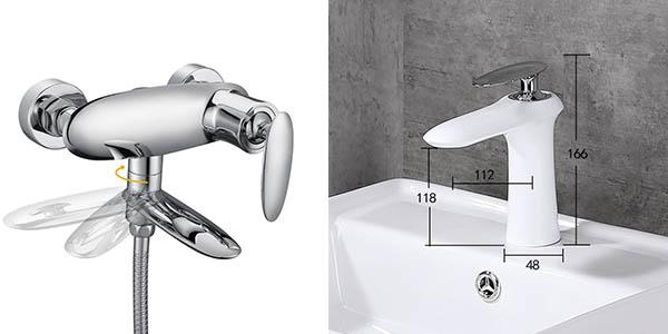 grifos Desfau para lavabo con cupón descuento en Amazon a mitad de precio