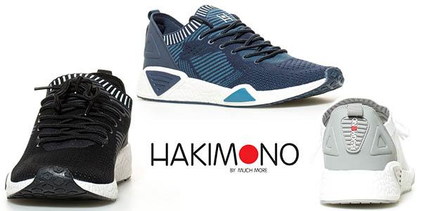 Hakimono Hyoo Knit zapatillas para hombre de diseño casual baratas