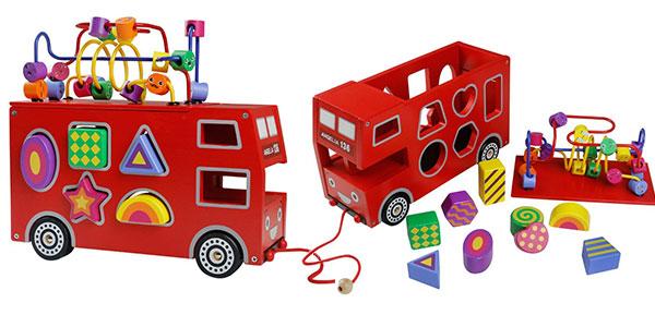 Juguete educativo infantil de madera con piezas encajables barato