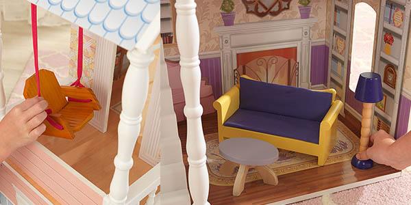 KidKraft Savannah 65023 casa de muñecas con 4 niveles muebles y complementos chollo
