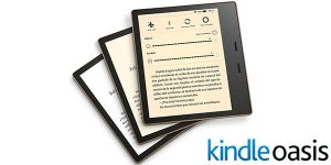 """Kindle Oasis de 7"""" con luz cálida ajustable"""