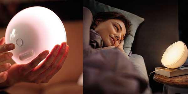 Lámpara LED Philips Hue Go compatible con Apple Homekit y Google Home chollazo en Amazon