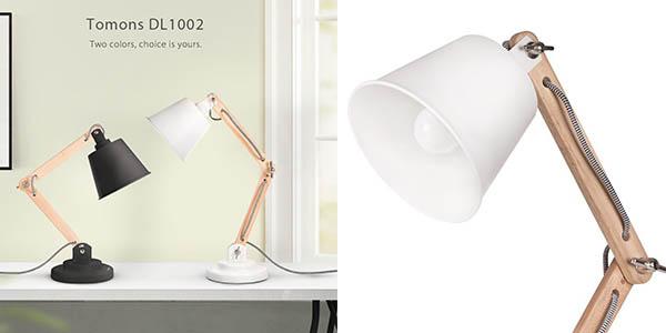 lámpara Tomons LED con iluminación blanca ajustable chollo