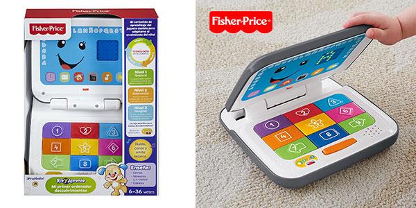 Mi primer ordenador Fisher-Price de Mattel para bebés al mejor precio