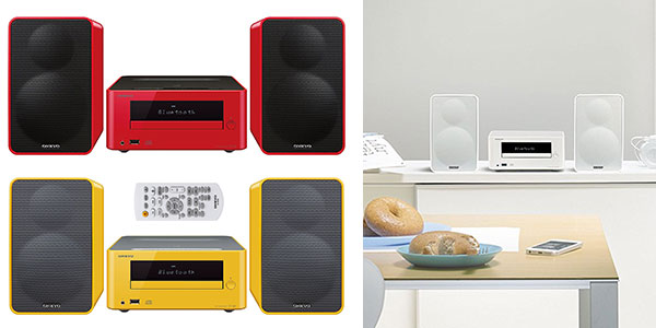 Microcadena Onkyo CS-265 con Bluetooth, CD, USB, MP3 y 20W barata