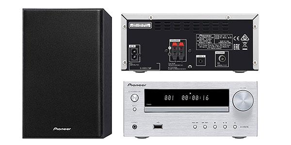 Microcadena Pioneer X-HM16-S con CD y USB al mejor precio