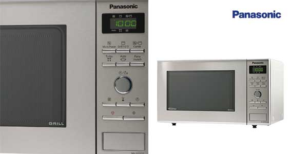 Microondas Panasonic NN-GD371SEPG de 950W con tecnología Inverter,función Grill de 1000W y 23L chollazo en Amazon