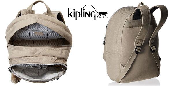 Mochila Kipling Clas Challenger warm gray