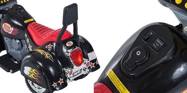 moto eléctrica infantil con luces y sonidos
