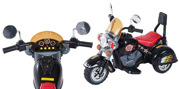 moto eléctrica recargable con 3 ruedas infantil con relación calidad-precio brutal