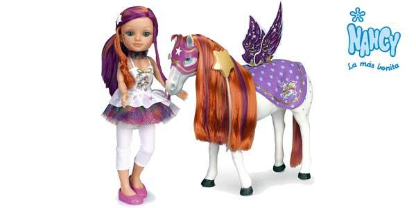 Muñeca Nancy y su caballo Funtastic de Famosa chollazo en Amazon