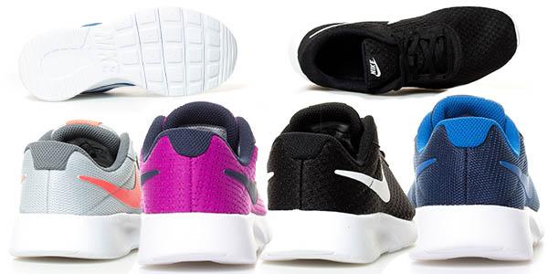 Nike Tanjun Gs bambas de deporte acolchadas para mujer baratas