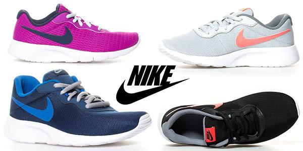 Nike Tanjun Gs zapatillas para mujer chollo