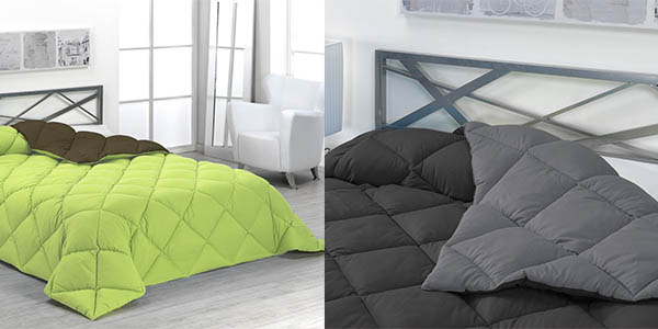 nórdico reversible y transpirable grueso para camas de gran tamaño barato