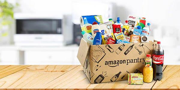 oferta de productos de uso diario Amazon Pantry noviembre 2017