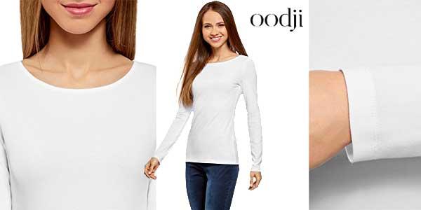 Pack de 5 camisetas de manga larga para mujer baratas en Amazon