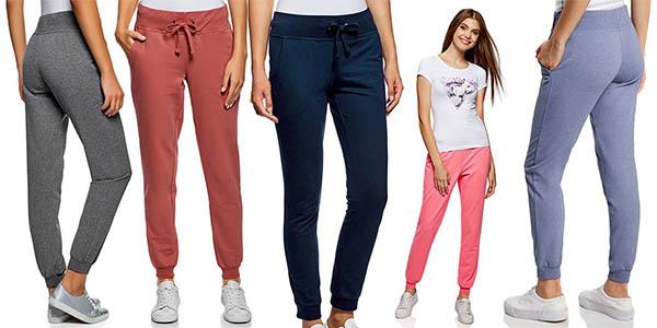 pantalón de deporte Oodji Plus para mujer barato