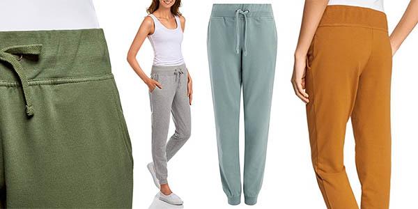 pantalones deportivos cómodos para mujer Oodji Plus con gran relación calidad-precio