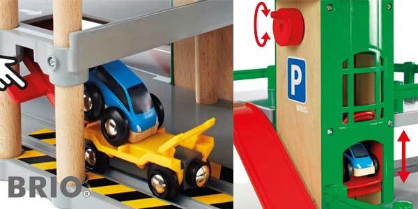 Parking Brio para coches de juguete chollazo en Amazon