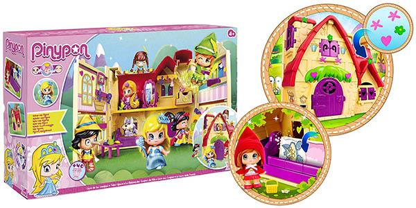 Pinypon Casita de los cuentos con muñeca Cenicienta y pegatinas