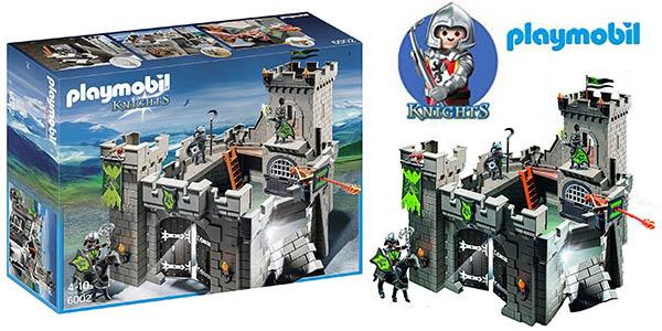 Playmobil Fortaleza Caballeros 6002 chollo