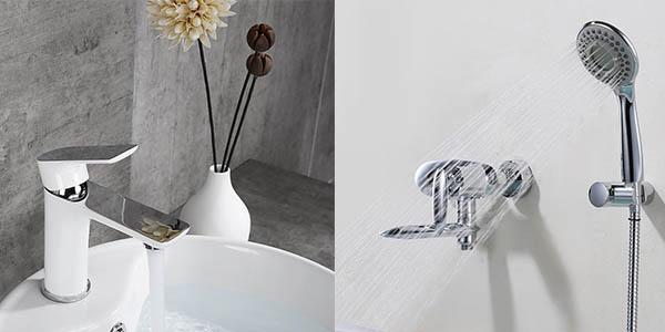 promoción grifos para el cuarto de baño con cupón descuento en Amazon noviembre 2017