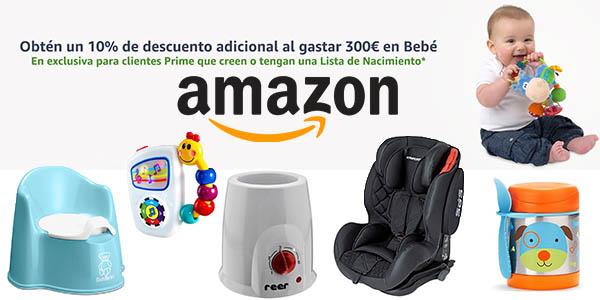 promoción Lista de Nacimiento de Bebé en Amazon noviembre 2017