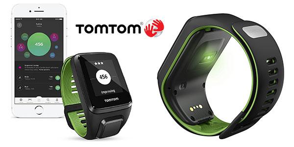 Reloj deportivo Tomtom Runner 3 Cardio + Music de talla L rebajado