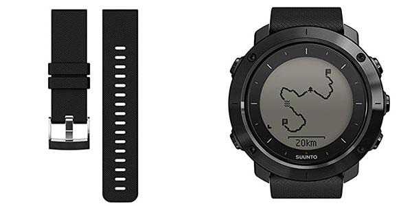 Reloj de entrenamiento GPS Outdoor Suunto Traverse negro al mejor precio