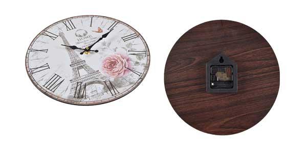 Relojes de pared retro Home sweet Home chollazo en Amazon