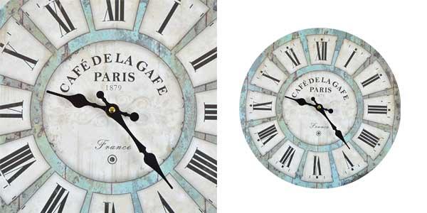 Relojes de pared retro Home sweet Home chollo en Amazon